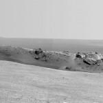Marsi kulgur jõudis hiiglasliku iidse kraatri äärele