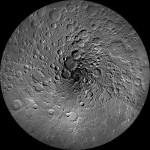 Spiraalne illusioon: uus foto Kuu Põhjapoolusest