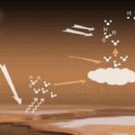 Marsi atmosfääris leidub üleküllastunud veeauru