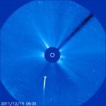 Komeet Lovejoy sööstis Päikesesse ning pääses puutumatult