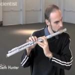 3D prinditud flööt