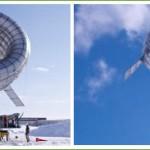 Kaasaskantav suurtel kõrgustel töötav tuuleturbiin