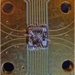 Teemantisse integreeritud kvantprotsessor