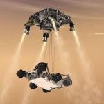 Homme hommikul maandub Curiosity Marsile