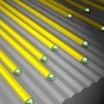 Kasvatati heade füüsikaliste omadustega horisontaalseid nanotraate