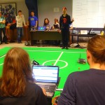 Täna toimus Tartu Ülikooli Robotiklubis Robotexi eelvõistlus