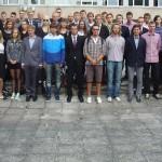 Tartu Ülikooli värskete tudengite ning nende mentorite ühispilt