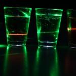 Rohelise laseri valgus