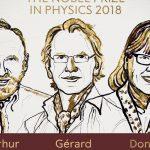 2018. aasta füüsika Nobeli preemia